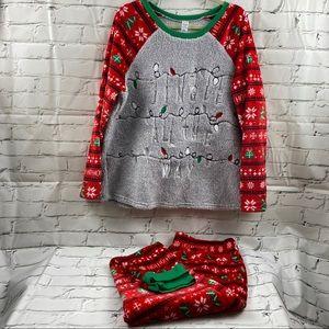 NWOT 2 piece fleece Christmas Pajamas
